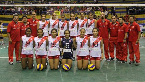 Sudamericano de vóley Sub 18: Perú lidera tabla de posiciones