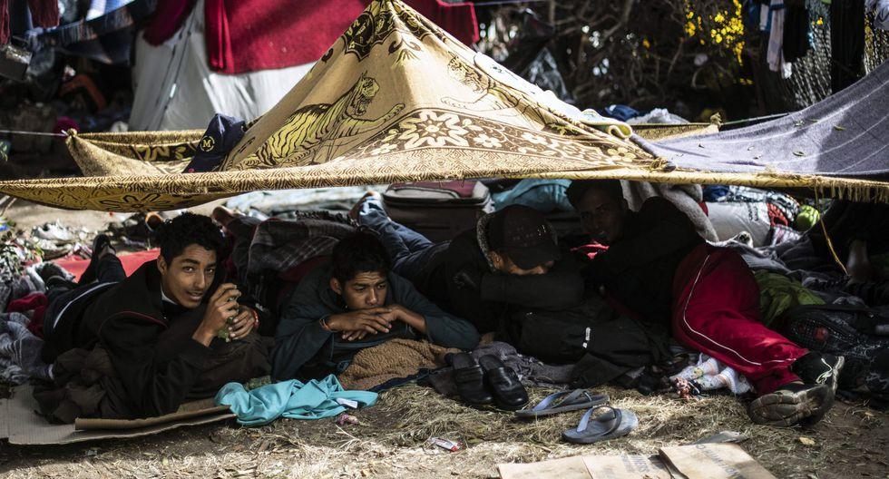 El burgomaestre afirmó que el costo de atención para los migrantes, cerca de 4 mil desde la semana pasada, es de más de US$24.800 por lo que pidió apoyo al gobierno federal y organismos internacionales. (Archivo AFP)
