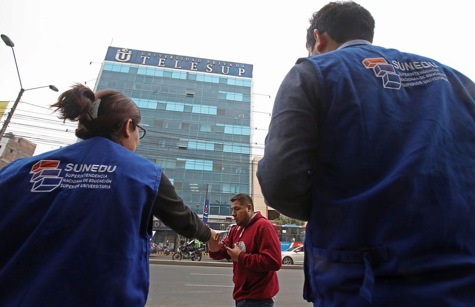 En mayo de este año, la Sunedu rechazó el licenciamiento para la universidad Telesup. (Foto: GEC)