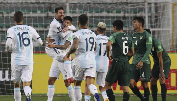 Bolivia vs. Argentina por el Grupo A de la Copa América. (Foto: AFP)