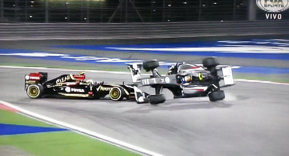 F1: la espeluznante volcadura de Gutiérrez en el GP de Bahréin  - 6