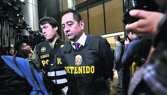 José Luis Cavassa Roncalla, exfuncionario de la ONPE, es investigado como parte de la organización criminal Los Cuellos Blancos del Puerto. (Foto: GEC)