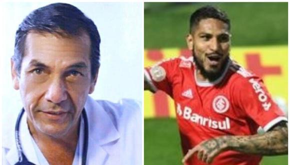 El doctor Julio Grados fue testigo de una lesión de Paolo Guerrero en el 2009.(Foto: GEC/Agencias)..