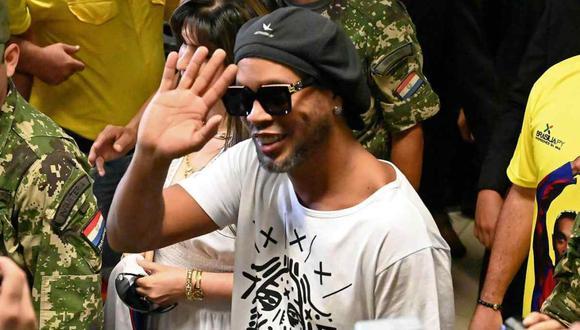 El pedido de Ronaldinho Gaúcho en el hotel paraguayo donde cumple prisión domiciliaria. (Foto: AFP)