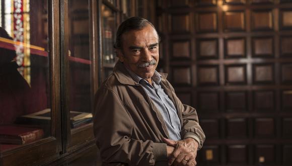 crimen del padre Amaro, Un mundo maravilloso y Del amor y otros demonios son algunos de los largometrajes en los que ha participado Damián Alcázar. (Foto: Elías Alfageme)
