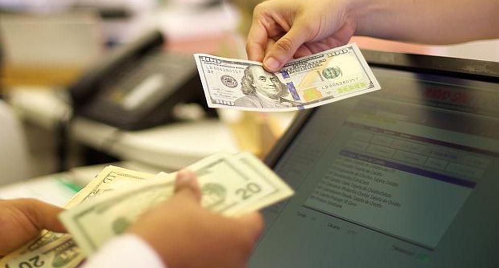 El dólar se vendía hasta enS/3.628 en los bancos en horas de la mañana. (Foto: GEC)