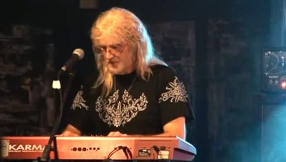 Murió Geoff Nicholls, ex tecladista de Black Sabbath