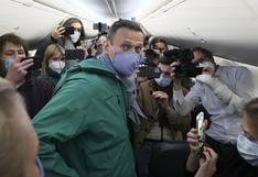 Rusia envía nueve días a la cárcel a la portavoz de Alexei Navalny por llamar a protestas