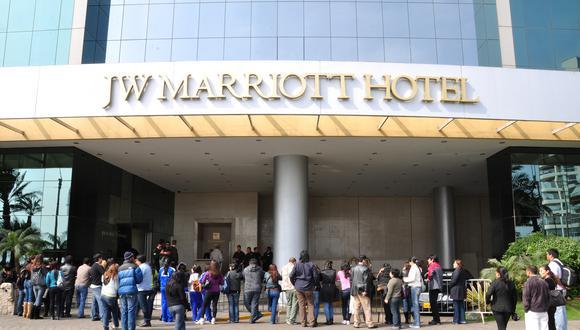 Marriott International tiene más de 7.000 propiedades en 131 países con marcas como Ritz-Carlton, W Hotels y Courtyard. (Foto: El Comercio)