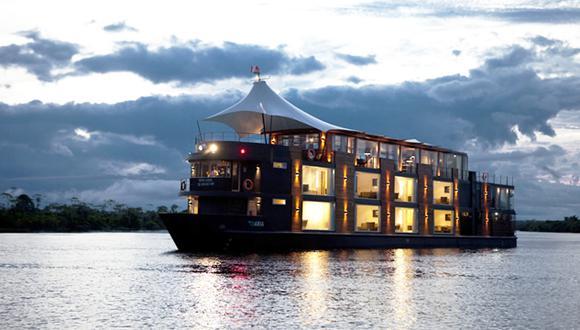 Turismo en cruceros de lujo sigue creciendo en el Amazonas