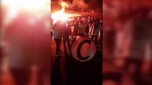 Hinchada de Alianza Lima no respetó el distanciamiento social y celebró su aniversario en las calles