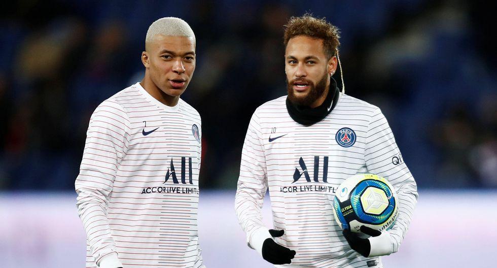 Neymar y Kylian Mbappé son pretendidos por el Barcelona y Real Madrid, respectivamente. (Foto: AFP)