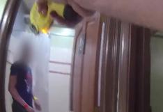 El tenso momento en el que un sheriff electrocuta a un migrante de 16 años para detenerlo | VIDEO