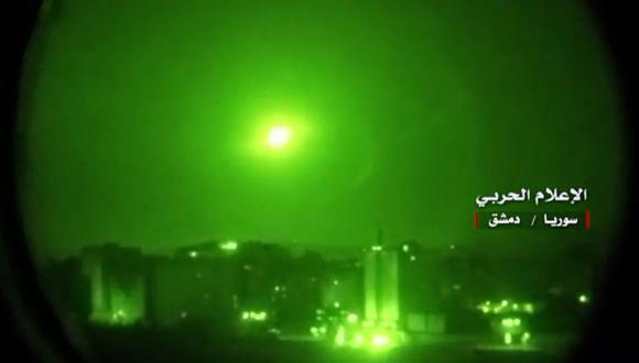 Israel bombardea Siria tras lanzamiento de misil cerca de su central nuclear de Dimona. (Foto referencial, AFP).