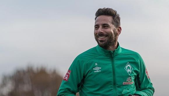 Claudio Pizarro no ha tenido mucha continuidad debido a las lesiones que lo aquejan. Ha estado presente en 9 de los quince partidos del Bremen. (Foto: Werder Bremen)