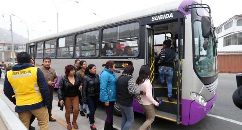Corredor SJL: establecen rutas de nuevos servicios 404 y 405