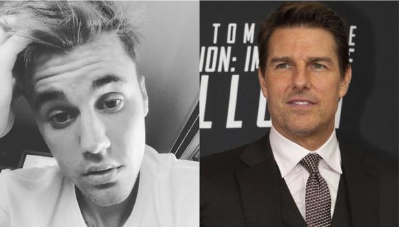 Justin Bieber reta a Tom Cruise a una pelea en un ring y Conor McGregor se ofrece como organizador. (Foto: Instagram/AFP)