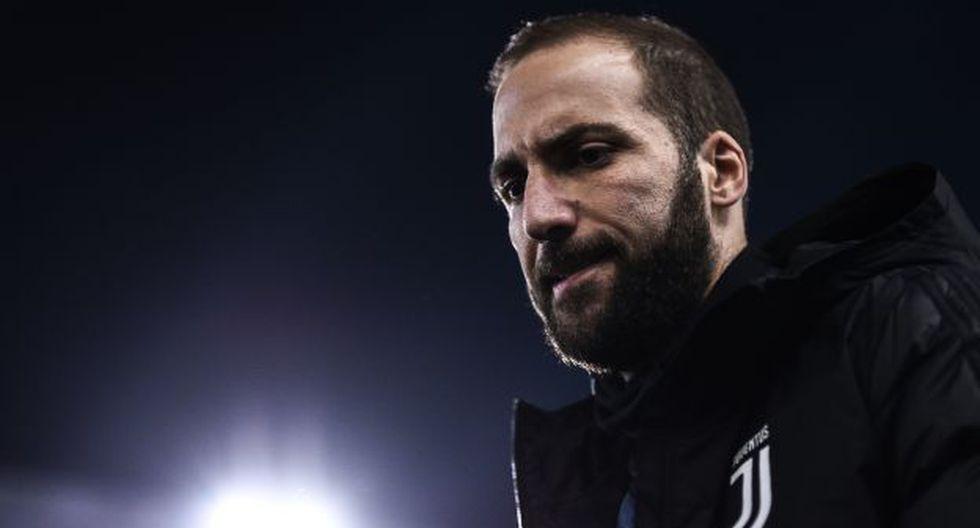 Gonzalo Higuaín tendría los días contados en la Juventus. (Foto: AFP)