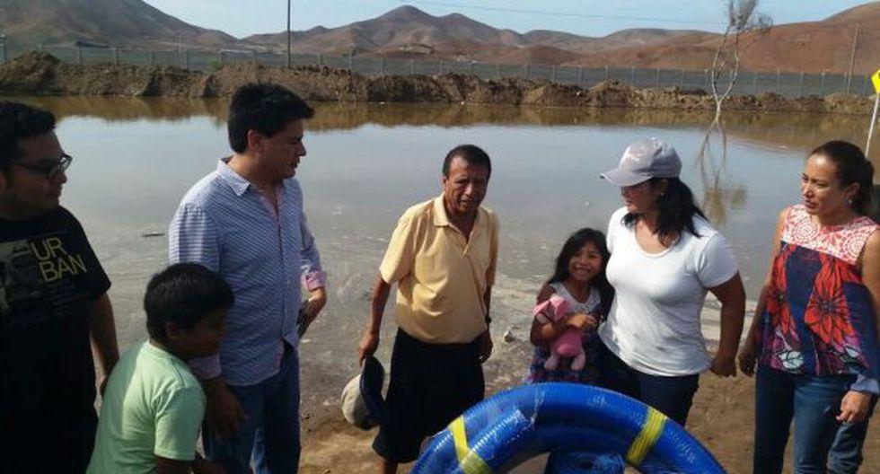 Fujimori reapareció en Pucusana con congresistas de su partido - 2