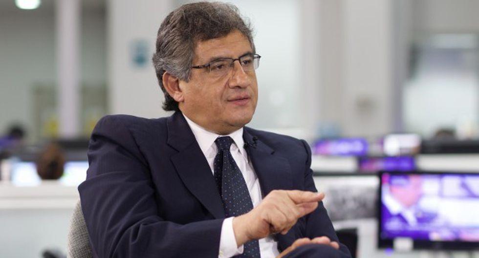 El congresista Juan Sheput fue autor del informe que recomendaba destituir e inhabilitar a Pedro Chávarry, pero no prosperó en la Comisión Permanente. (Foto archivo El Comercio