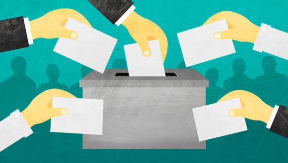 """""""Comienzo estas columnas electorales hablando de los planes de gobierno de los cuatro partidos que ocupan los primeros lugares de intención de voto"""". (Foto: Ilustración GEC)"""