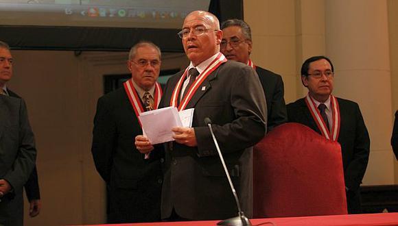 Poder Judicial respaldó a César San Martín por Caso Madre Mía