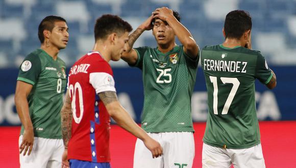Bolivia acumuló su segunda derrota consecutiva en la Copa América 2021 (Foto: AFP)