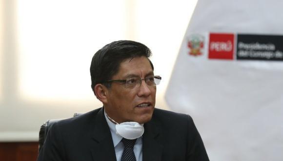 Zeballos indicó que la iniciativa de Ledesma se encuentra en evaluación, puesto que no debe contravenir el marco normativo del Estado. (Foto: PCM)