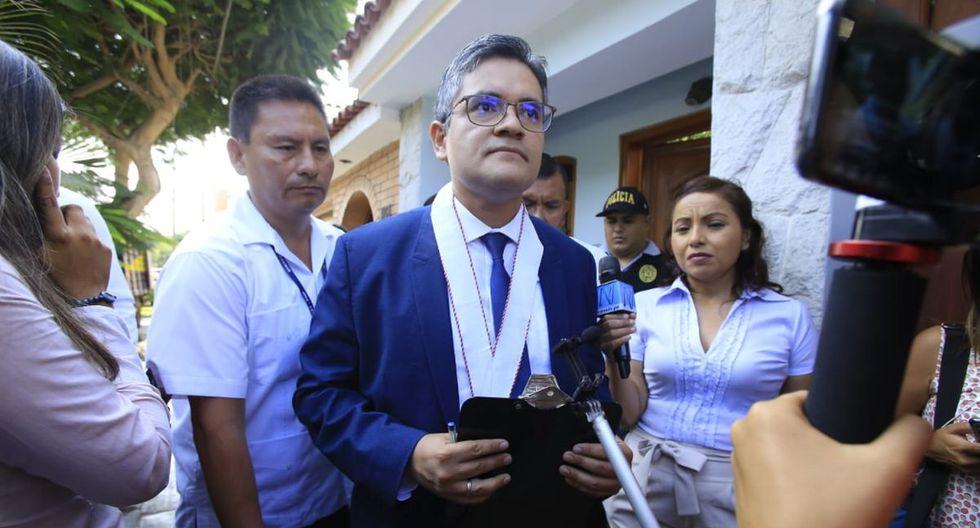 El fiscal José Domingo Pérez participó en el allanamiento y detención preliminar contra Yehude Simon. (Foto: Jessica Vicente/EGEC)