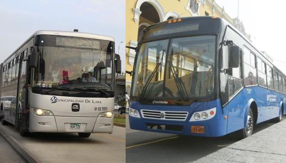 Las rutas del Metropolitano y del Corredor azul desvían hoy