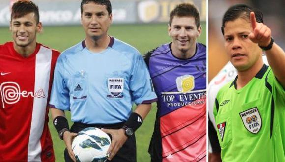 Peruano que arbitró a Messi y Neymar le da consejo a Carrillo