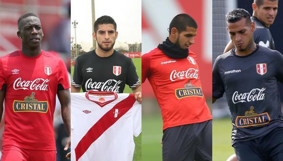 Advíncula, Zambrano, Abram y Trauco serían los titulares de la selección peruana en la próxima Copa América. (Foto: El Comercio)