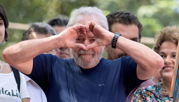 Según un periodista de la revista Época, su pareja lo visita en prisión seguido y tendría cerca de 40 años. El expresidente brasileño fue condenado por corrupción pasiva y lavado de dinero. (Foto: EFE)