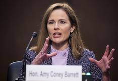 El Senado de EE.UU. quedó listo para votar la nominación de la jueza Amy Coney Barrett para la Corte Suprema