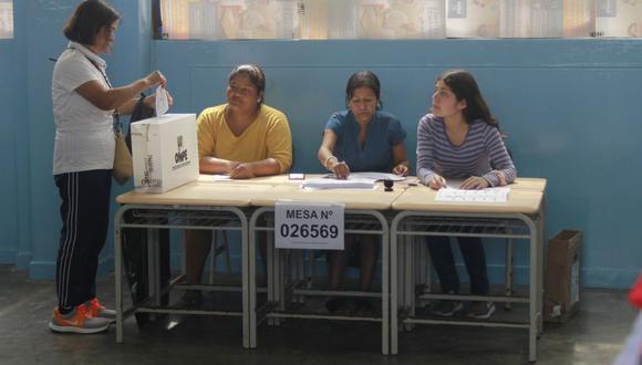 Esta fecha está establecida según el cronograma del Jurado Nacional de Elecciones (JNE). (Foto: GEC)