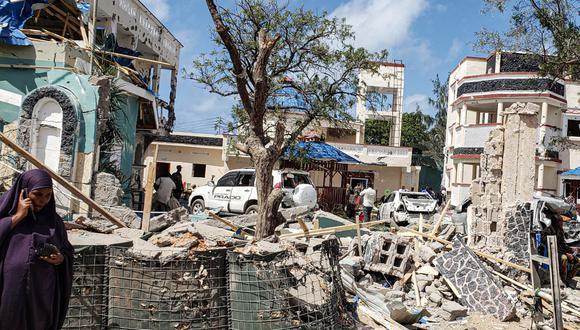 Ataque en hotel somalí dejó 26 muertos. (Foto: AFP)