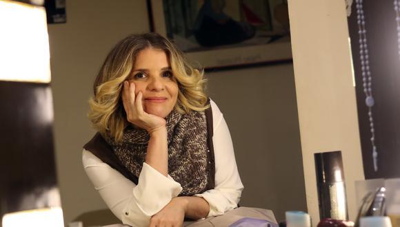 La actriz y conductora de televisión Johanna San Miguel se mostró contenta que su hijo, Paulo Astorga, votara por primera vez. (Foto: Geraldo Caso Bizama/GEC)