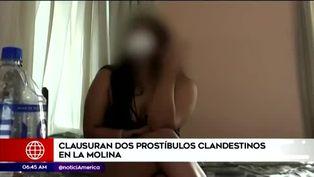 La Molina: Policía clausura prostíbulos clandestinos