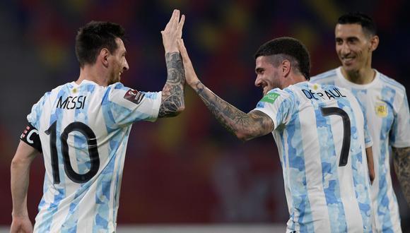 Argentina chocará con Colombia por el partido de semifinales de la Copa América 2021. (Foto: EFE)