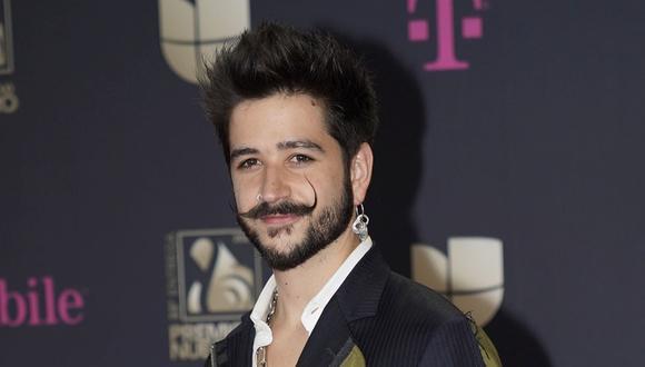 El cantante colombiano Camilo competirá con artistas como Ricky Martin, Bad Bunny, Debi Nova y Kany García en la categoría de Mejor álbum pop latino. (Foto: AP /Lynne Sladky)