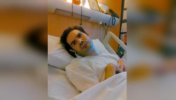 Lambert sufrió un accidente de tráfico en 2008 que le dejó tetrapléjico y totalmente dependiente. (Foto: AFP)