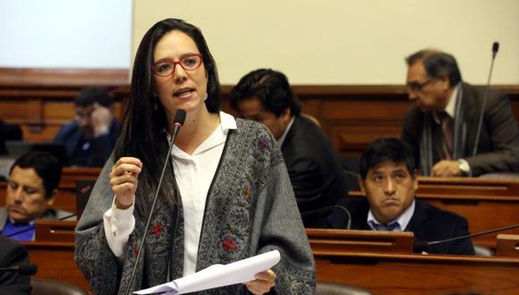 """Marisa Glave consideró que sería un """"error"""" que Nuevo Perú conforme alianza con el partido de Vladimir Cerrón. (Foto: GEC)"""