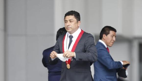 """El legislador defendió al sentenciado secretario general de Perú Libre, Vladimir Cerrón, y consideró que su condena """"fue injusta"""". (Foto: El Comercio)"""