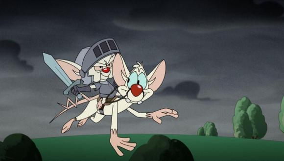 """Se revela el plan maestro de Cerebro para conquistar el mundo en el reboot de """"Animaniacs"""" (Foto: Hulu)"""