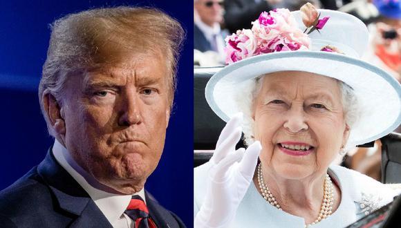 El protocolo que deberá respetar Donald Trump en su encuentro con la reina Isabel II. (Bloomberg / EFE).