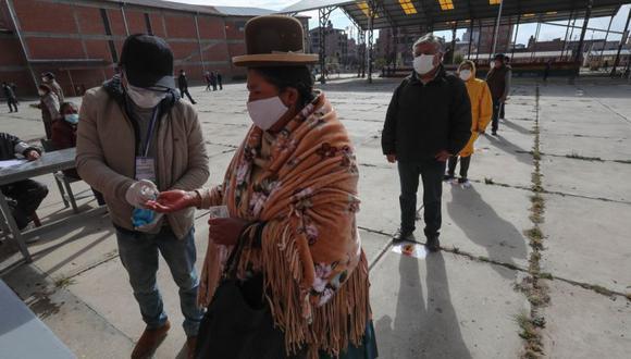 Coronavirus en Bolivia | Últimas noticias | Último minuto: reporte de infectados y muertos hoy, domingo 18 de octubre del 2020 | Covid-19 | (Foto: EFE/Martin Alipaz).
