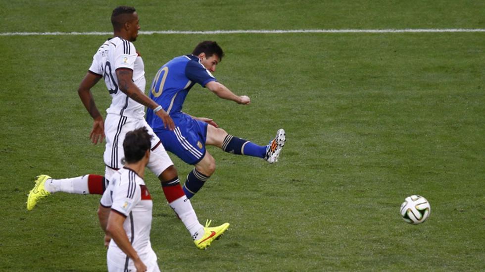 Messi y la increíble chance de gol que desaprovechó a los 46' - 1