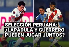 Selección peruana: ¿Lapadula y Guerrero pueden jugar juntos en la Blanquirroja?
