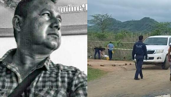 Gustavo Sánchez Cabrera era director del medio digital Noticias Minuto a Minuto y había sobrevivido a un ataque armado en julio de 2020, en México. (Foto: composición   Twitter   RSF en Español).