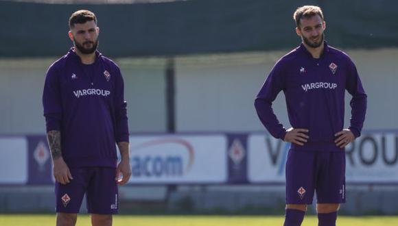 Patrick Cutrone, Germán Pezzella y Dusan Vlahovic son los tres futbolistas con coronavirus. (Foto: Fiorentina)